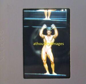 35mm Slide Photo ERROR ABSTRACT ART gay Sexy Men Physique Bodybuilding JG876