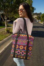Genuine Embroidered Vintage Tribal BOHO sport bag tote bag overnight bag handbag