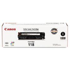 Canon 118 Black Toner Cartridge - 2662B001
