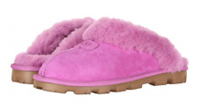 UGG Australia Coquette Bodacious Pink Suede Slipper Women's sizes 5-11/NEW!!!