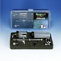 Spraycraft Universal Dual Action Professional Airbrush Kit Excellent Gift Idea!