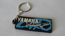 Portachiavi Yamaha R1 R6 TMAX YZF X-CITY FZ1 FAZER nuovo (nero scritta bianca)