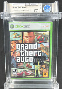 CONTROVERSIAL GTA WATA 9.4 A SEALED Grand Theft Auto IV (Xbox 360, 2008)