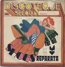 "REPARATA - Shoes - VINYL 7"" 45 ITALY 1975 VG+ COVER VG- CONDITION"