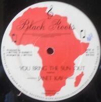 """JANET KAY ~ You Bring The Sun Out ~ 12"""" Single"""