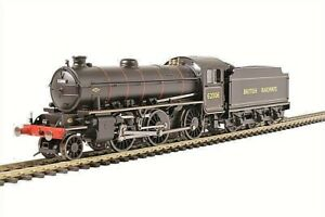 Hornby R3418 Class K1 2-6-0 in BR black with BR lettering  OO AND SUIT HO SCALE