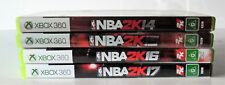 NBA 2K14, 2K15, 2K16 and NBA 2K17 Microsoft Xbox 360