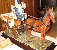 "DEAR ""Carriage Ride"" Sculpture by A. Belcari"