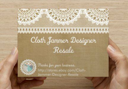 Cloth Jammer Designer Resale