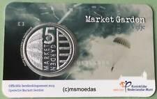 Niederlande 5 Euro 2019 Market Garden CoinCard Sondermünze Münzkarte Euromünze