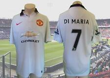 Manchester United 2014-15 EPL Away Camicia di Maria 7 SOCCER JERSEY MAILLOT Taglia L
