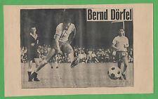 Orig. Autograph Bernd dörfel (Copy. Braunschweig) from 1969/on Old Picture!!!