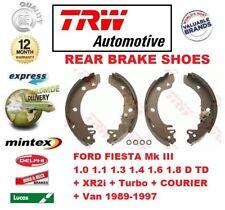 Para Ford Fiesta Mk III + XR2i Turbo Courier Van 1989-1997 Eje Freno Trasero