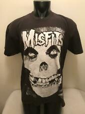 New listing Vintage Misfits Black & White Ghost Skull Face Shirt Mens Xl Made in Usa