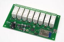 WIFI008 - 8 x 16A Wireless Relais Modul