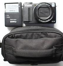 Canon PowerShot G1 X Mark II 12.8MP 1080P WiFi RAW Digital Camera