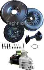 FORD MONDEO TDDI DUAL MASS REPLACEMENT FLYWHEEL, STARTER AND CLUTCH KIT WITH CSC