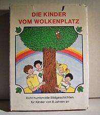 """02 176 DDR Quartettspiel """"Die Kinder vom Wolkenplatz"""""""