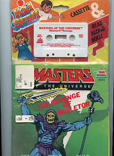 1983 Masters of the Universe Cassette & Read Along Book Complete in Package