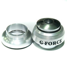 GEFORCE A Head 1 inch headset heat treated alloy cups silver finish
