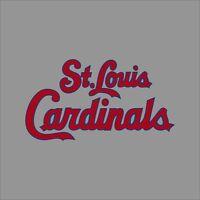 St Louis Cardinals #3 MLB Team Logo Vinyl Decal Sticker Car Window Wall Cornhole