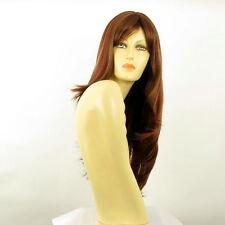 Perruque femme longue Châtain Cuivré Méché Blond Clair/rouge BETTY 33H130