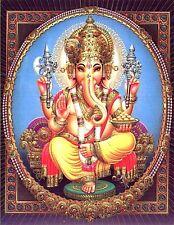 "3.25"" Hindu God GANESHA computer laptop STICKER. God's Deity Krishna"