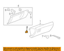 GM OEM INSTRUMENT PANEL-Glove Box Assembly Stop 10356314