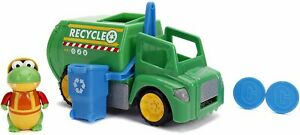 """Jada Toys Ryan's World Recycling Truck with Gus The Gummy Gator Figure, 6""""..."""