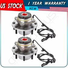 2 Front Wheel Hub Bearing Assembly For 1999 F-250/F350/F450/F550 Super Duty 4WD