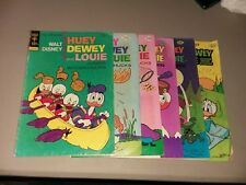 Huey Dewey And Louie Junior Woodchucks 10 Issue Bronze Age Comics Lot collection