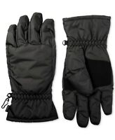 Isotoner Men's Winter Gloves Black Size Medium M Fleece Touch Screen $48 #406