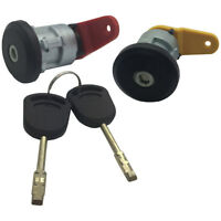 Para Ford Delantera Izquierda Derecha Cerradura Barril & 2 Llaves ASLKIT6FL+