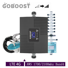 Cell Phone Signal Booster 4G LTE 1700MHz Band4 LCD Repeater For AT&T Verizon