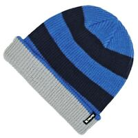 GIFTS FOR MEN Hurley Mens 9A6039 Reversible Slouch Beanie Hat Midnight Navy Blue