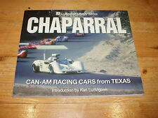 Book - Chaparrel-Can-Am Racing Cars from Texas (Ludvigsen Library Series).