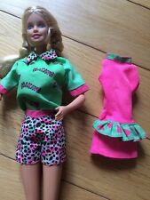 Barbie DRESS & Hiking Shorts And Shirt