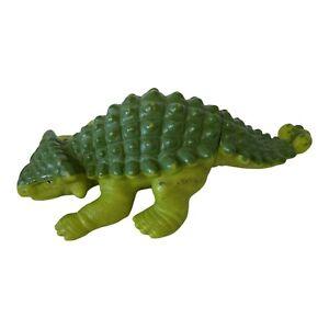 1988 Playskool Definitely Dinosaur Anklyosaurus Miniature Action Figure Green