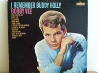 BOBBY   VEE          LP     I  REMEMBER  BUDDY  HOLLY