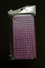 APPLE iPHONE CELL PHONE + CASE/COVER/PROTECTOR + 4 + 4S + 4TH 4G + PURPLE