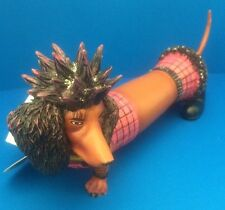 "New  HOT DIGGITY ""Punk Pooch"" Resin Figurine Westland Giftware No.16465 #510"