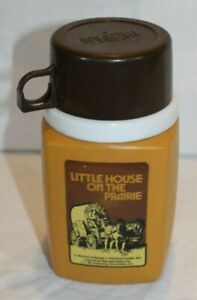 Vintage 1978 THE LITTLE HOUSE ON THE PRAIRIE THERMOS for LUNCHBOX