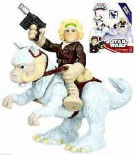 HASBRO Star wars GALACTIC HEROES Deluxe Han Solo and Tauntaun figure NEW MIB
