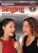 PROGRESSIVE BEGINNER SINGING Book + CD & DVD*