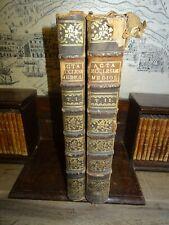 1754 ACTA ECCLESIAE MEDIOLANENSIS by CAROLO VOLS I II BY BORROMAEI MILAN ^