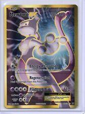 Pokemon Ultra Rare Full Art Holo MEWTWO EX 103/108 Evolutions NM/Mint