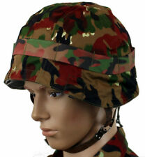 SWISS ARMED FORCES M71 HELMET COVER in ALPENFLAGE CAMO