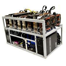 SPARTAN V2 Open Air GPU Mining Rig Frame Computer Case Chassis - ETH ZEC XMR