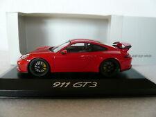 Porsche 911 (991.2) GT3, Minichamps WAP0201490H, indischrot, 2017, 1:43, OVP