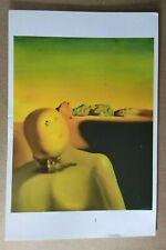 Printed Art Postcard - Salvador Dali Museum - The Average Bureaucrat (1930)